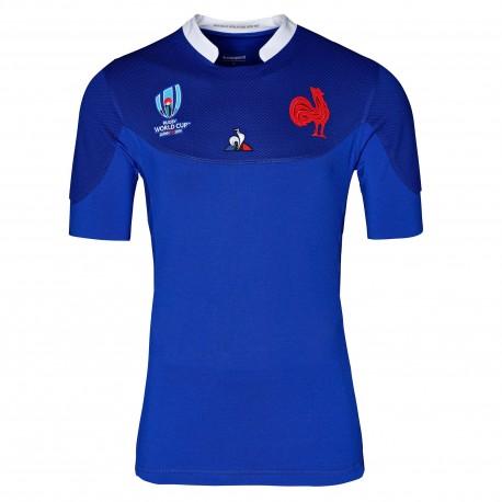 Maillot de rugby replica xv de France RWC 2019