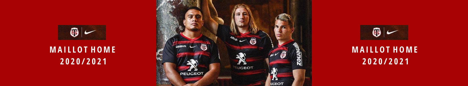 maillot home rugby toulon
